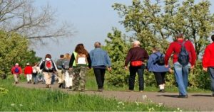 Outdoor Walking Encouraged at Memory Care at East Ridge