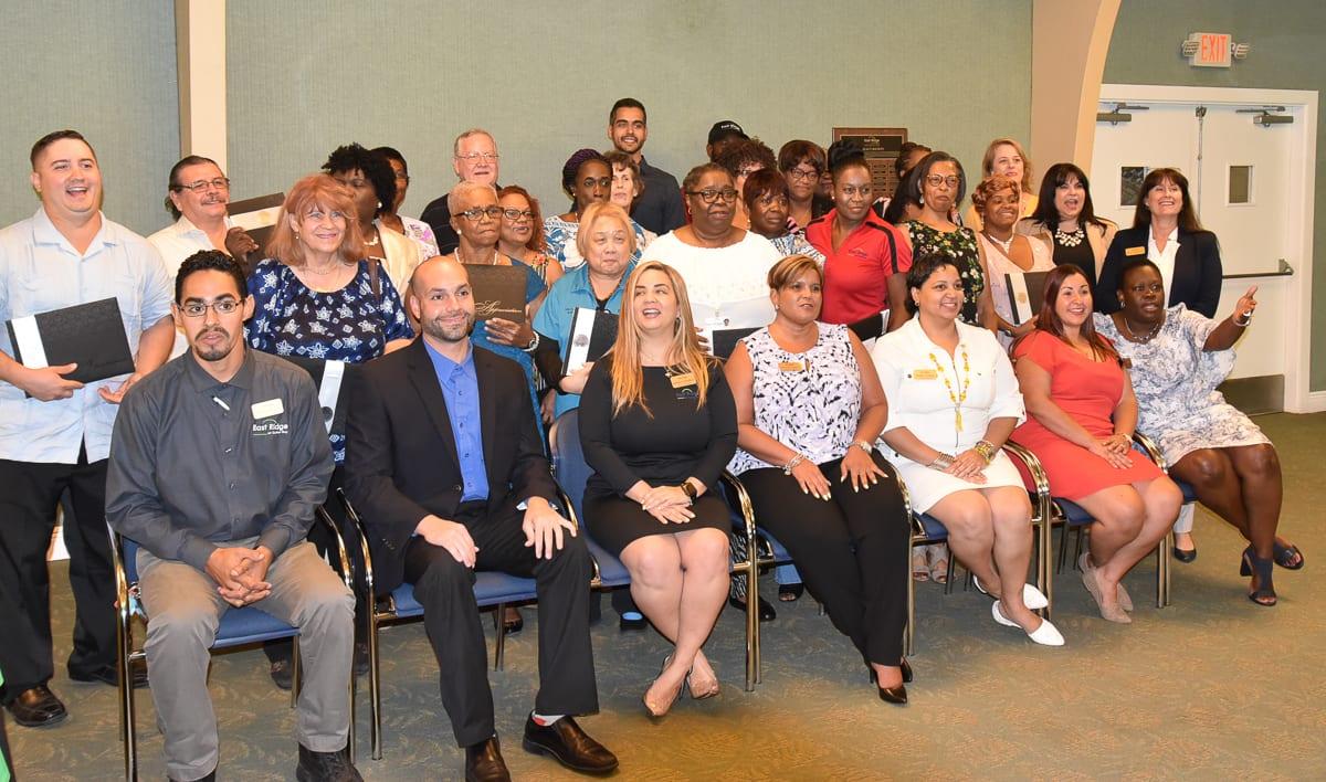 East Ridge Honors Employees with Milestone Awards
